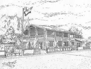 clubhuis tekening Talo